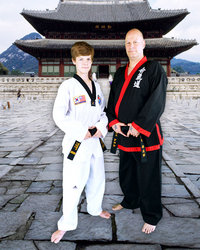 Master Sullivan and Instructor Brandt